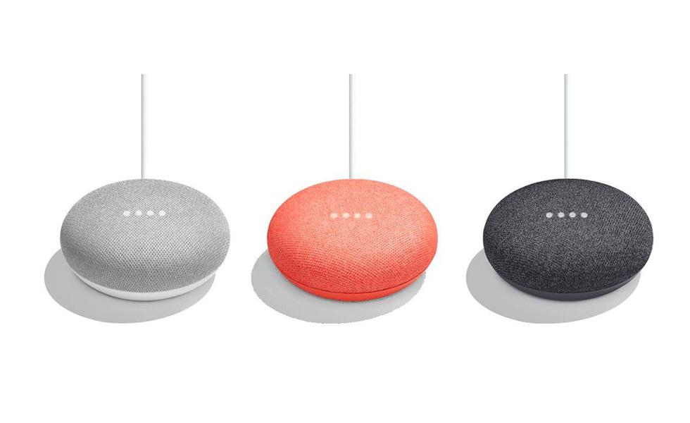Les Google Home Minis permettent d'avoir des assistants virtuels dans toutes les pièces du foyer